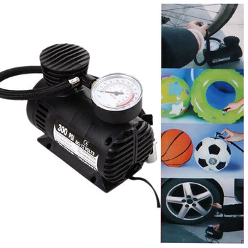Car Accessories Automotive Durable Vehicle Mini Air Compressor 300 PSI Tire Inflator Pump 12V Car Parts Universal