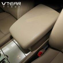 Vlarme pour Toyota Highlander kluger voiture accoudoir couverture en cuir coussin console centrale coussin casquette style accessoires décoration 2012