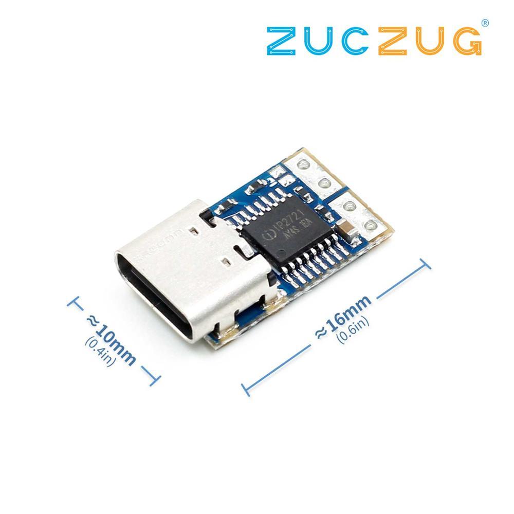 PD Decoy Module PD23.0 To DC DC Trigger Extension Cable QC4 Charger 9V 12V 15V 20V