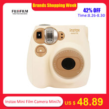 Fujifilm Instax Mini Film Camera Mini7c Mini 7C Instant Camera Cheaper than Instax mini8 mini9 Birthday Christmas New Year Gift(China)