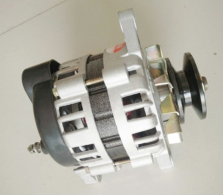 pequeno do agregado familiar ac alternador 220v polia roda ima permanente tensao constante 1500w brandnew cobre