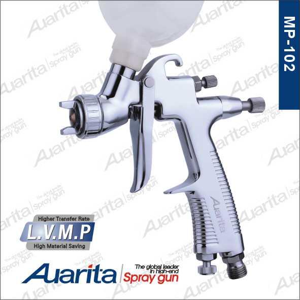 Auarita MP-102 LVMP MINI Spray Gun 1 0mm High Quality Stainless Steel Material Nozzle