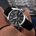 Автоматические механические часы Corgeut для мужчин  наручные часы MIYOTA с кожаным ремешком  sapphire  водонепроницаемые спортивные повседневные му...