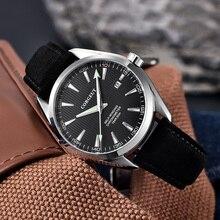 Corgeut Automatic Watch Mechanical Men Leather Wrist MIYOTA