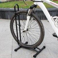 Suporte de chão dobrável bicicleta rack exibição montanha mini garagem reparação aço titular para o reparo da bicicleta