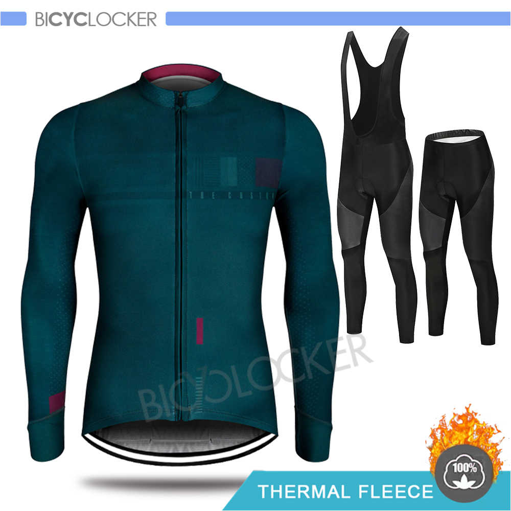2020 Pro Team Gobiking Cycling Clothing Winter Jacket Men Long Sleeve Jersey Set Ropa De Ciclismo Invierno Hombre Thermal Fleece