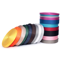 15mm wide 50 yards/lot Nylon Webbing Polyester Bag Belt 0.7mm thickness DIY Materials Accessories Supply
