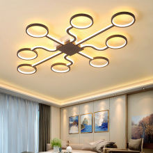 New Modern led chandeliers Ceiling For livingroom bedroom modern chandelier Creative lampadario led lustre Chandelier lighting minimalism modern led ceiling chandeliers plafondlamp iron round led chandelier lighting for bedroom studyroom led light