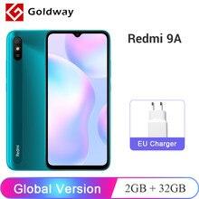 Versión Global Xiaomi Redmi 9A 9 A 2GB 32GB Smartphone MTK Helio G25 Octa Core 6,53