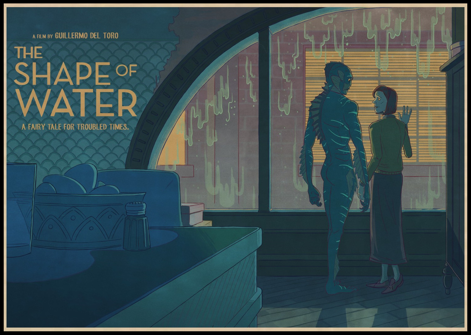 Buy Three To Send One The Shape Of Water Classic Film Wallpaper
