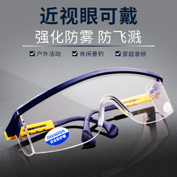 Wielofunkcyjny ochrona pracy okulary anti-fog ochrona przed kurzem anti-splash wilgotne wiatroszczelna i anti-spray tanie i dobre opinie NE-WOLAND CN (pochodzenie) 599088197687 Color Domestic