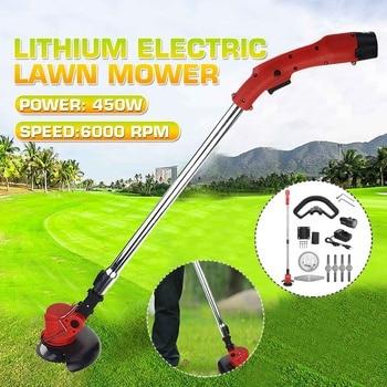 12V 350W taşınabilir akülü çim makası elektrikli giyotin lityum bahçe aletleri çim kesici e n e n e n e n e n e n e n e n e n çim biçme makinesi