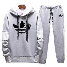 2019 brand mens clothing hooded suit casual sweatshirt spring and autumn fashion hoodie sportswear