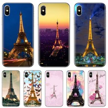 Membeli Silikon Phone Case untuk Samsung Galaxy J1 J2 J3 J4 J5 J6 J7 J8 Plus 2018 Prime 2015 2016 2017 I Love Paris dan Eiffiel Tower(China)