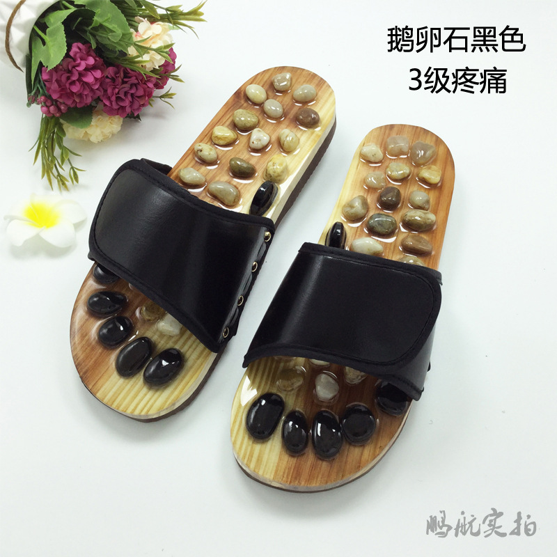 Massage Slipper Shoes Unisex Summer Slipper Acupoint Healthcare Slipper Men&Women Health Accupressure Foot Slippers Cobblestone