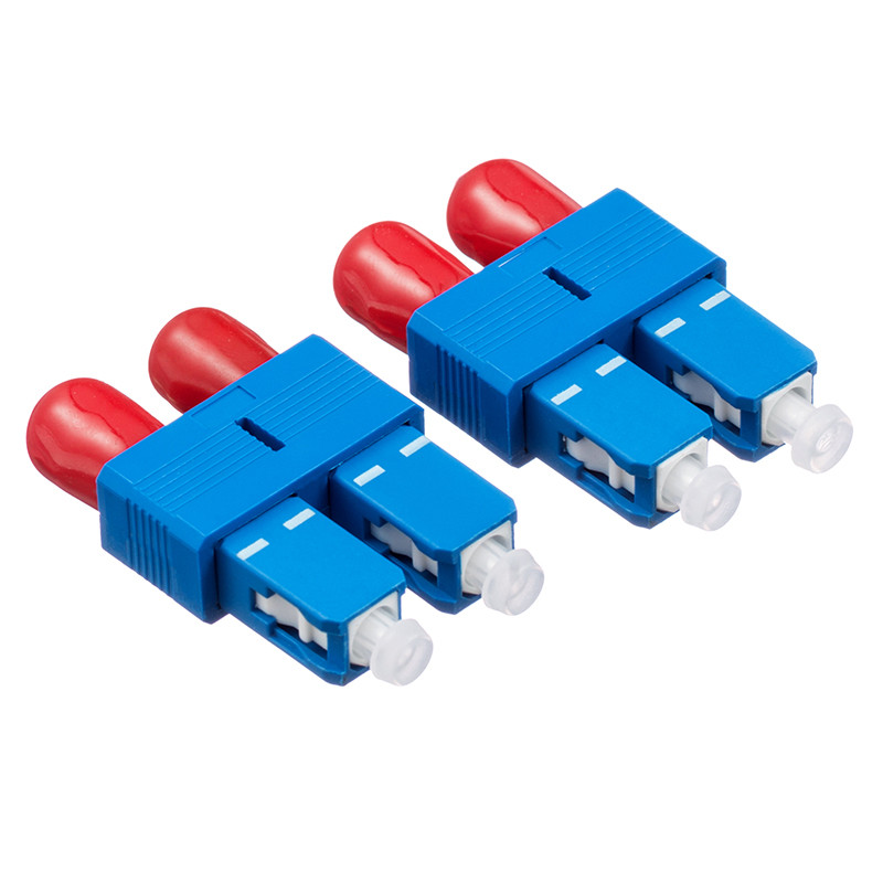 Carrier-class SC Female to ST Male Fiber Optic Hybrid Adapter SC-ST Connector