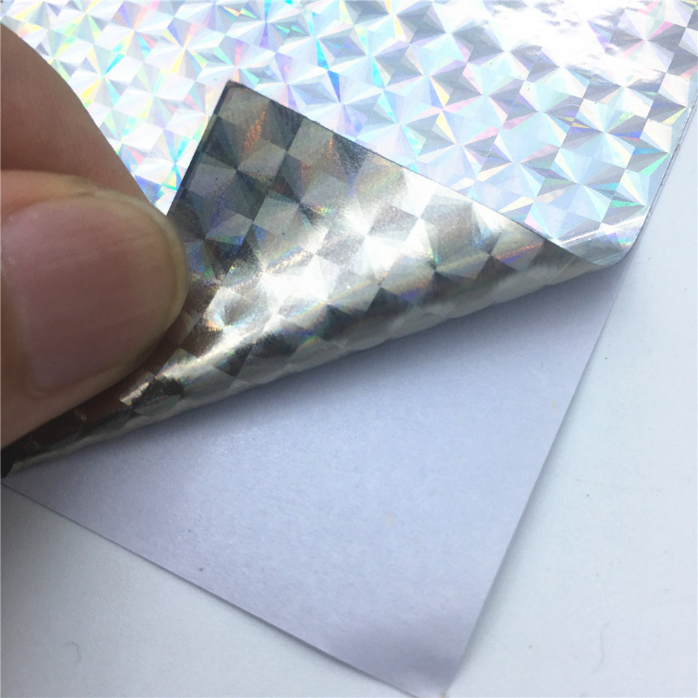 10 Sheets Holographic Reflective Fishing Lure Tape Lure Making Prism Tape FDX99
