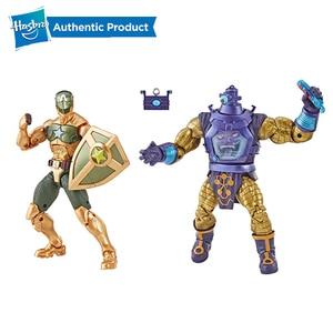 Image 4 - Hasbro Marvel Truyền Thuyết Loạt Quả Phụ Đen Của Marvel Hawkeye Hình 2 Gói Truyền Thuyết Bộ Đội 2PK Avengers 6 inch Ant Man