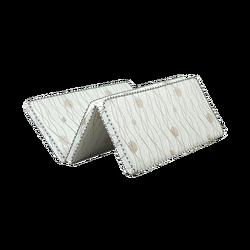 Naturalna mata z włókna szklanego kokosowego składany pojedynczy materac/Tatami do sypialni/domu/hotelu z odpinaną i oddychająca osłona