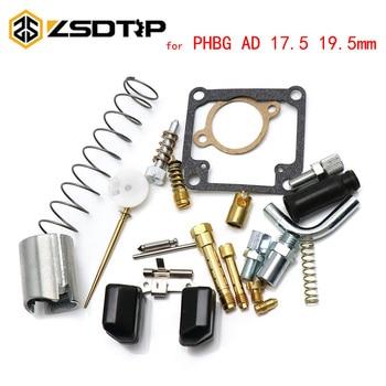 ZSDTRP-carburador PHBG Dellorto AD Kit de reparación de carburador para Dellorto PHBG17.5 PHBG19.5, piezas de repuesto de motocicleta, chorros