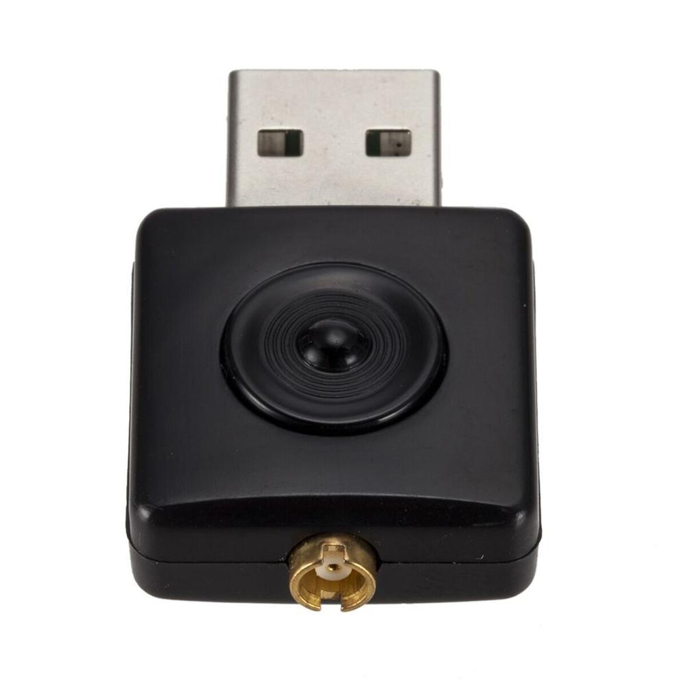 Ресивер-тюнер Realtek RTL2832U & R820T, USB Mini DVB-T, приемник-ключ, вход MCX, FM-адаптер DAB для DVB-T