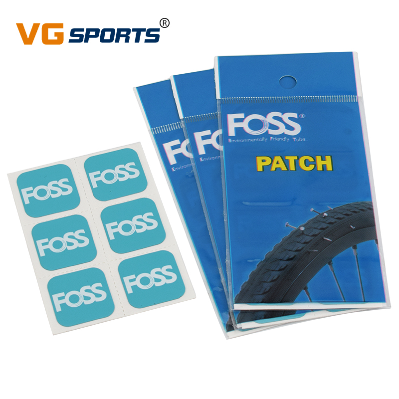 6pcs Foss Bicycle Tire Patches tyre repair Inner Tube MTB Road Bike Dedicated Quick Fix self-adhesive High quality Tool For Bike(China)