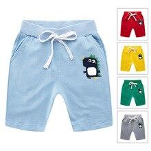 Мужские и женские детские штаны, шорты, летние шорты, чистый хлопок, стиль, корейский стиль, средний размер, для детей