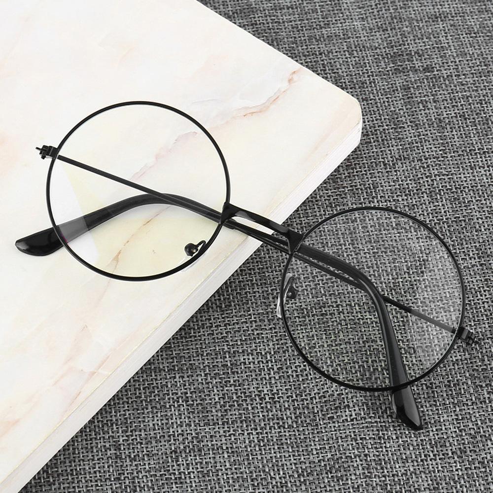 Retro Round Frame Anti blue Radiation Glasses Ultralight Men Women Fashion Blue Light Blocking Glasses Eyewear Students
