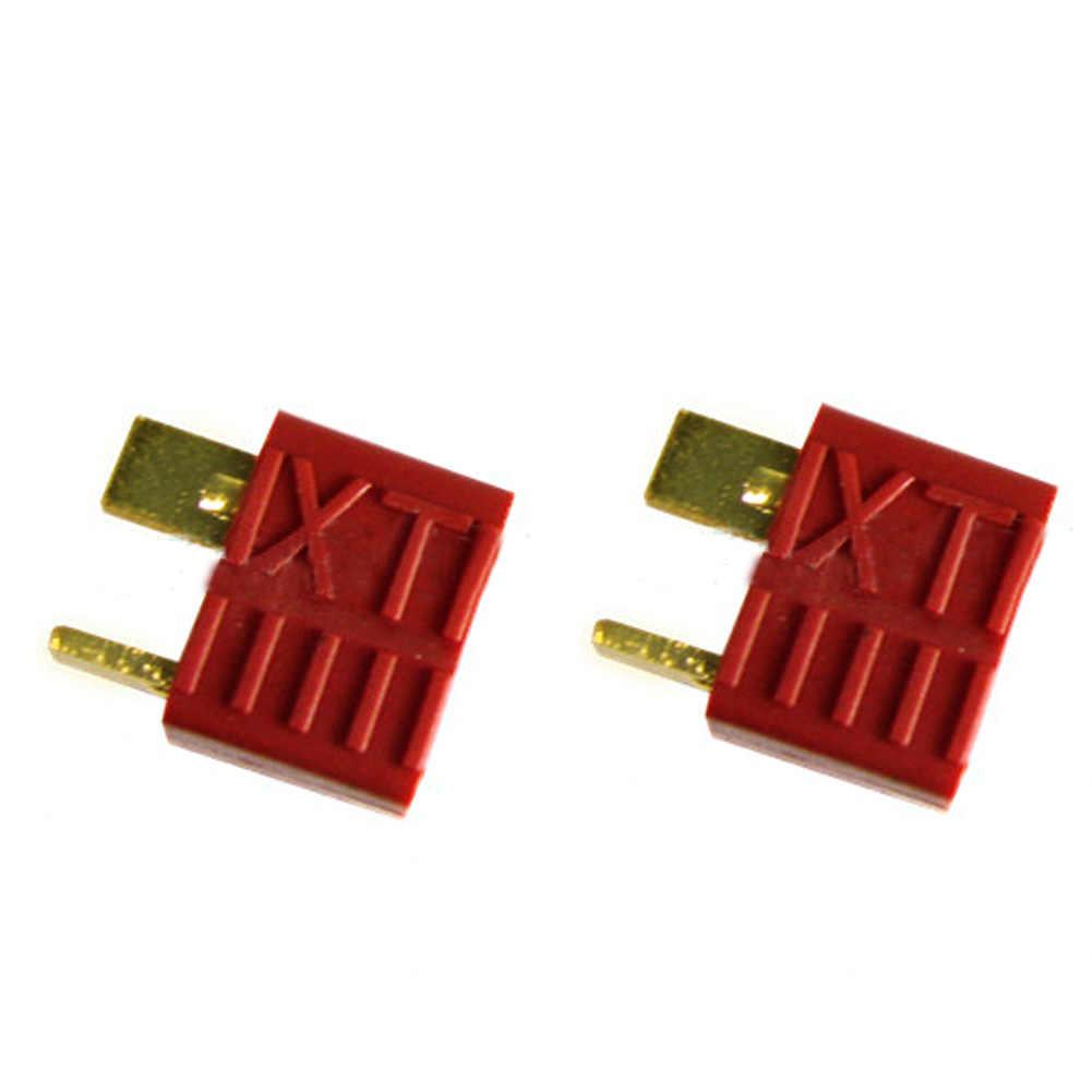 T wtyk męski i żeński złącza do baterii i ESC połączenia dla RC model samolotu LiPo baterii