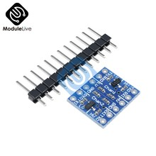 Two 2 Channel 2-CH IIC I2C Logic Level Converter Bi-Directional Board Module 5V to 3.3V For Arduino(China)