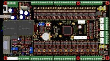 Stm32fstm32f24 24 작업 제어 보드 + 4 단계 펄스 제어 (v1.3)