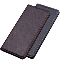 Top grade cowhide leather phone case stand funda for OPPO Reno 10x Zoom phone bag for OPPO Reno Ace/OPPO Reno flip case cover