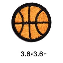 Вышивка Патчи для одежды баскетбол шаблон аппликация тканевые нашивки