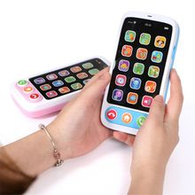 High Quality Kids Smart Screen Mobile Phone Toy Multi-function Simulation L9CD