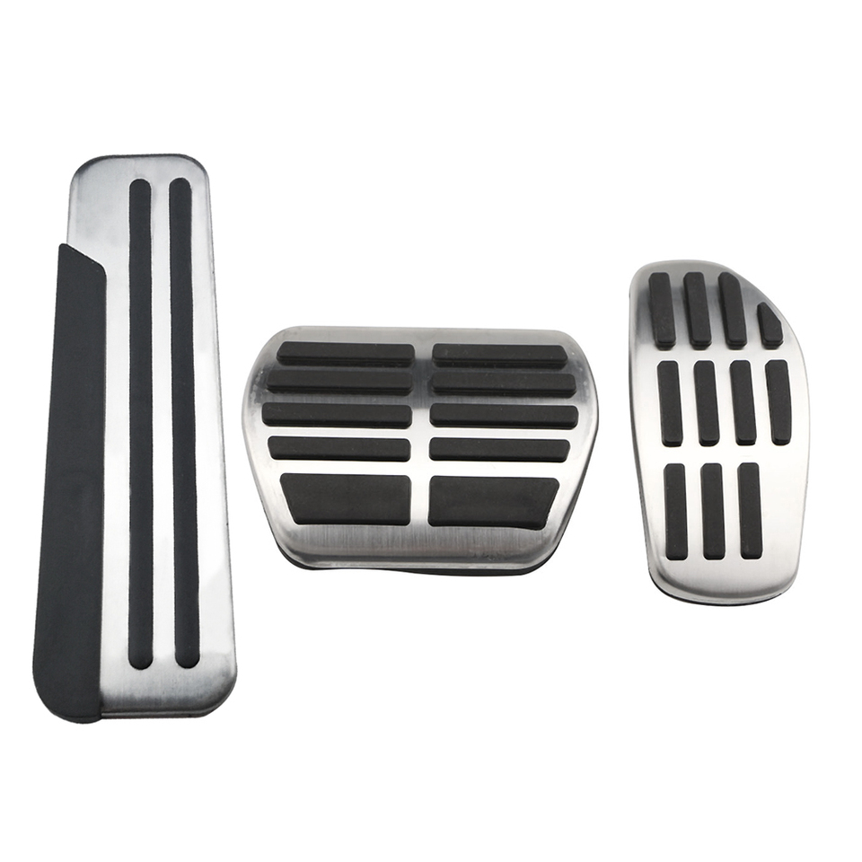 ASHDelk The stainless steel foot pedal of the clutch accelerator pedal kit foot pad,For Nissan Qashqai J11 2016-2020