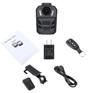 Image 5 - Boblov WA7 D 32 gb polícia câmera ambarella a7 4000 mah bateria mini comcorder dvr hd 1296 p corpo de controle remoto cam policia