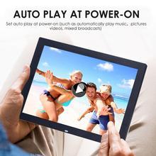 15 Inch Digital Photo Frame HD 1024x768 1080P HDMI LED Multi- Media Digital Photo Display Screen Picture Video Electronic Album