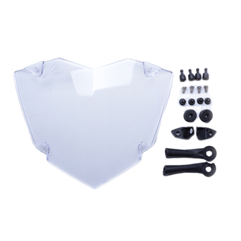 Durable Motorcycle Professional Shield Easy Install Guard Headlight Cover Replacement Protector Screen Lens For R1200GS LC ADV