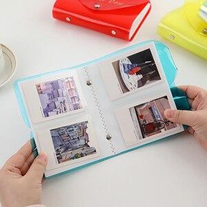 Image 3 - 64 tasche Mini Instant Photo Album di Foto di Caso per Fujifilm Instax Film 7C 7S 8 9 25 50s 70 90
