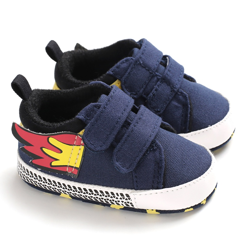 New Born Baby Boys Girls Canvas Shoes High Quality Fashion Wing Baby Boy Toddler First Walkers Newborn For 0-18 Month