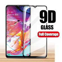 9D Tempered Glass For Samsung Galaxy M10 M20 A70 A60 A50 A80 A40 A30 A20 A20E A10  Screen Protector Full Cover Protection