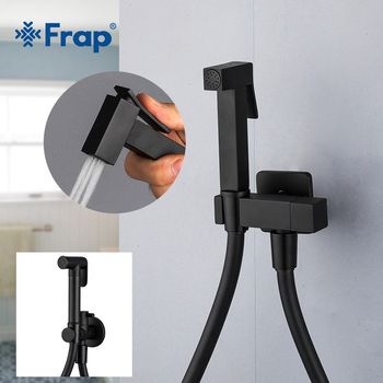 Frap Bidet Faucet Brass Shower Tap Washer Toilet Sprayer Hygienic Shower Bidet Tap Wall Mounted Bidet Faucets Y50058/9