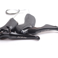 Shimano 105 ST R7000 2x11 Speed Road Bike Shifters Shift/Brake Lever Bicycle Part Left & Right Black