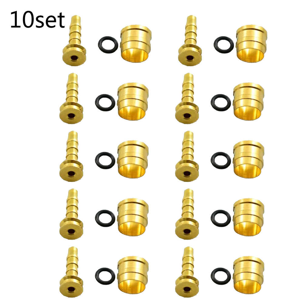 Olive Insert BH90 Hydraulic Disc Brake Hose Olive Connector Insert for Shimano Replacement Part 10 Set