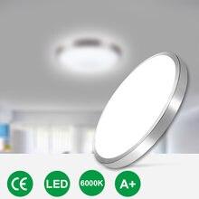 Современный светодиодный потолочный светильник лампа ac220v