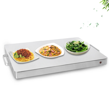 Warm Tray 400W Electric Food Heating Plate  Soup Warmer Constant Temperature Commercial Buffet Household Use Keep Dish Warming