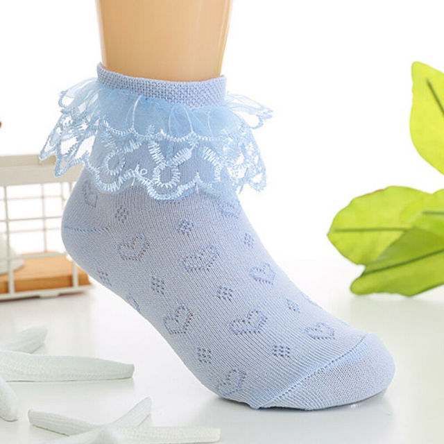 Toddlers Girls Lovely Lace Socks  2