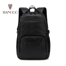 TIANHOO Retro Men's USB Backpack Casual Fashion Trend Oxford Travel Bags Computer Bag Student School Bags(China)