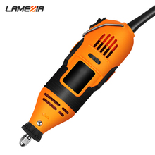 LAMEZIA Mini Grinder Electrical Rotary Engraving Pen Electric Mill Grinding Machine Small Polishing Power Tool