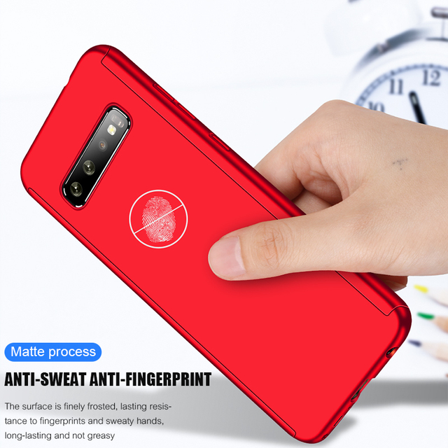 360 Full Body Protective Case For Samsung Galaxy S20 Ultra S10 Lite S10E S9 S8 PIus A20E A21S A31 A30S A51 A71 Cover With Glass 4